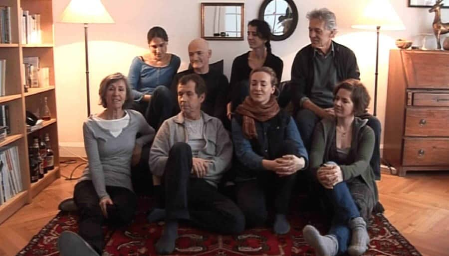 Portrait of Andreas, Elise, Esther, Lena, Nadine, Peter, Urs, Vesna